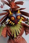 Cosplay Skull Kid from TLZ Majora's Mask