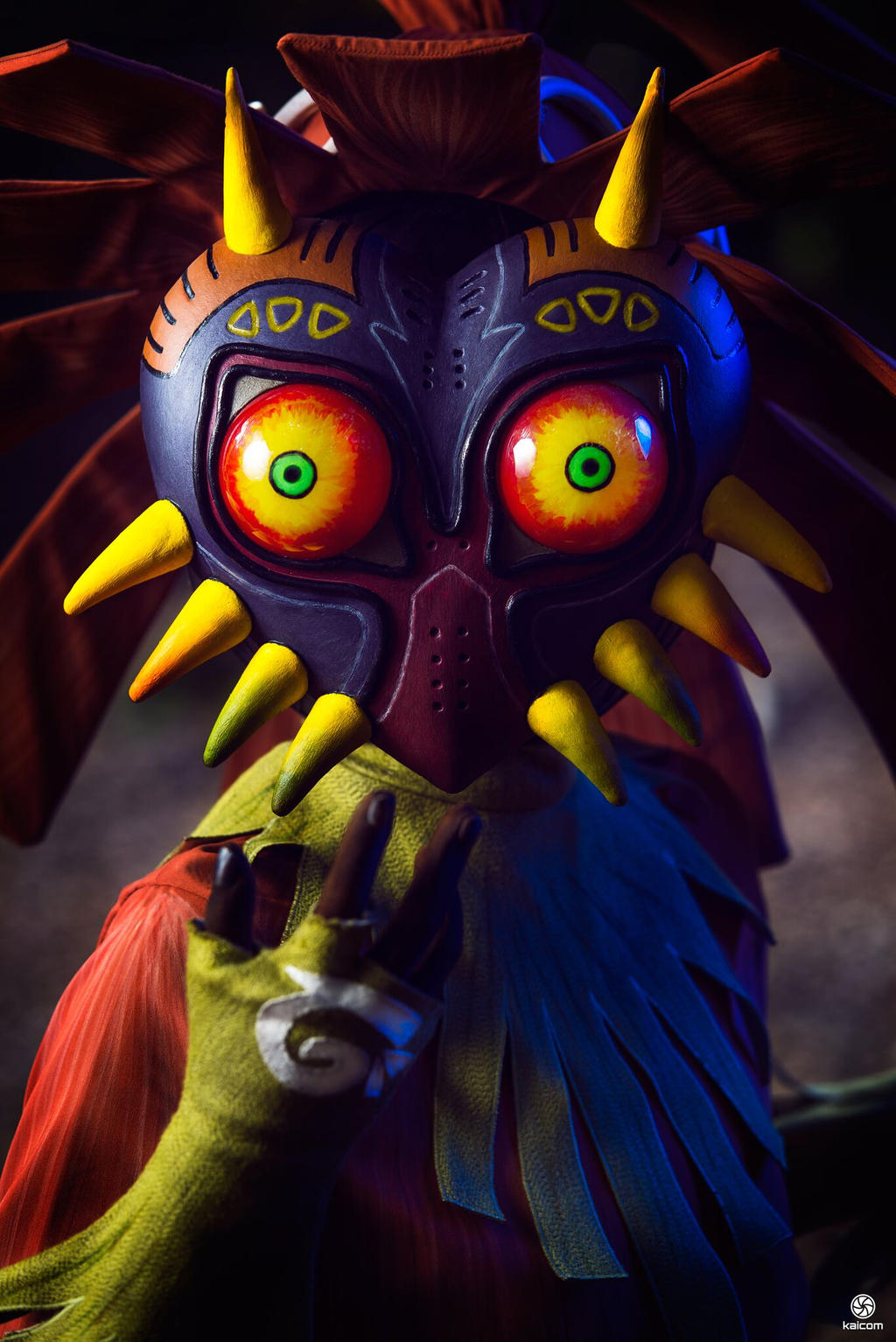 Cosplay Skull Kid From TLZ Majoras Mask By MahoCosplay