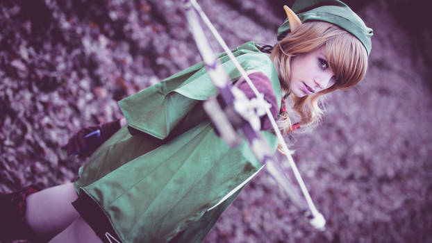 Cosplay Linkle from Hyrule Warriors
