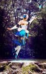 Cosplay Gwendolyn from Odin Sphere