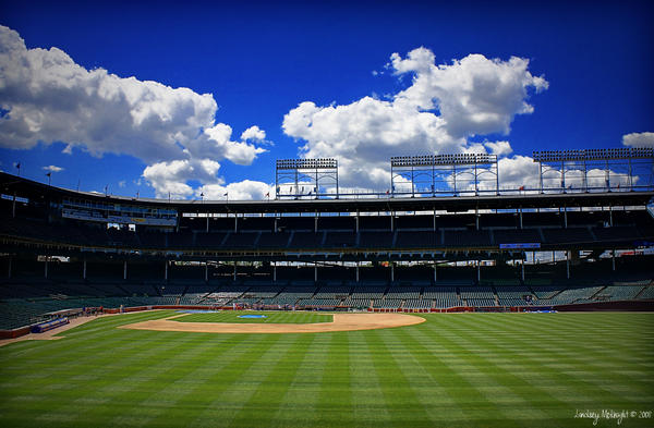 Wrigley Field 03 by PeppermintStripe