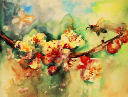 aquarelle by Kris-Kamikakushi