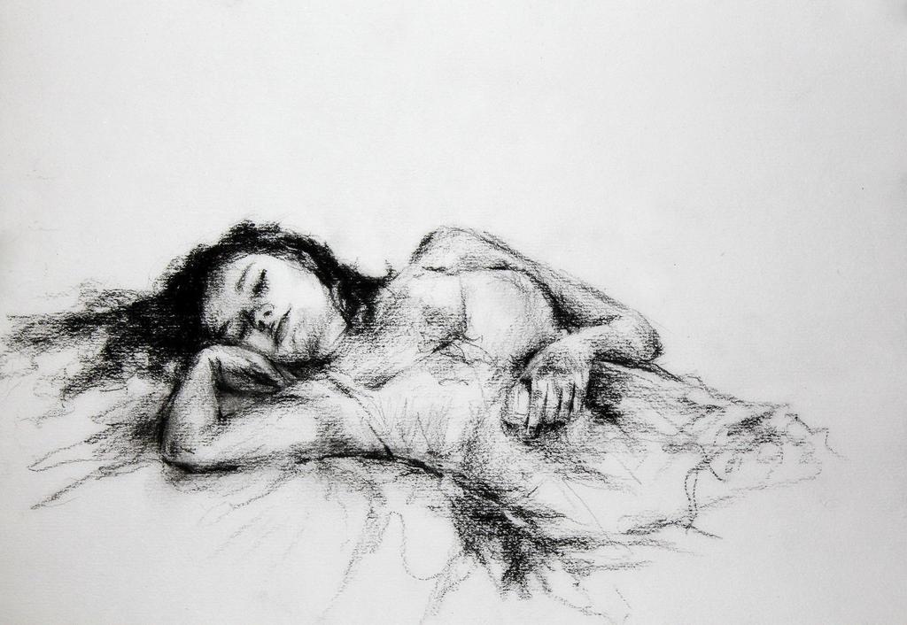 Sleeping - sketch