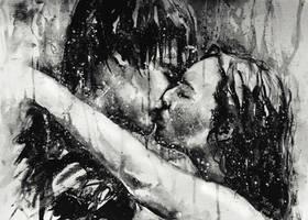 kiss you hard in the pouring rain by Kris-Kamikakushi