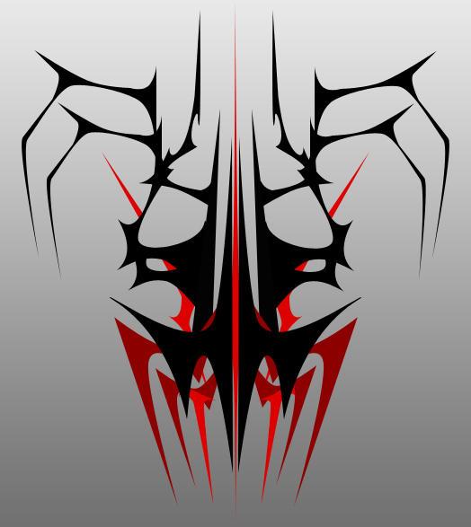 Tribal Skull by MStout