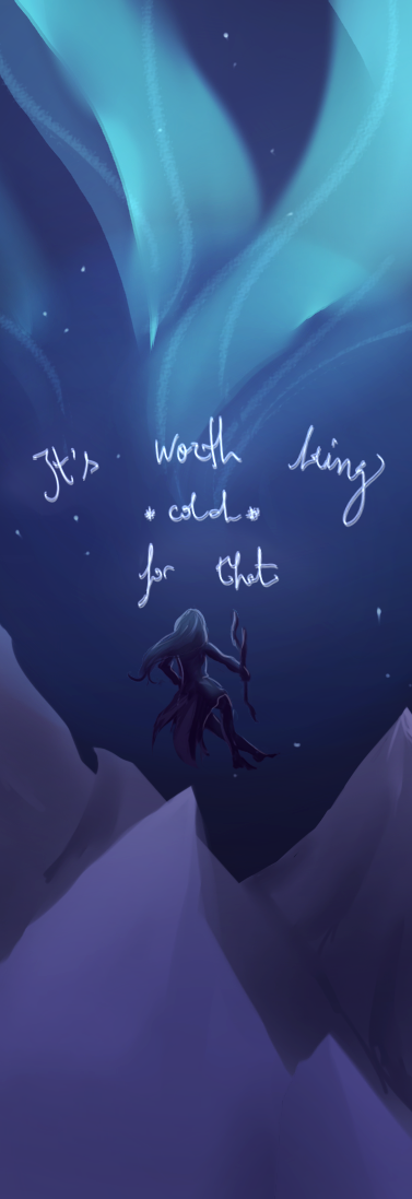 worth being a little cold by Ikolit