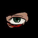 Bertholdt eye for aottg by Smalderhaldefan