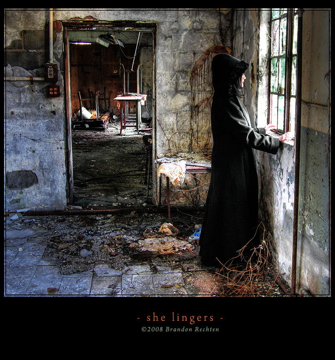 She lingers... by BrandonRechten