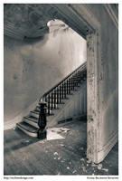 Gulick House: Staircase by BrandonRechten