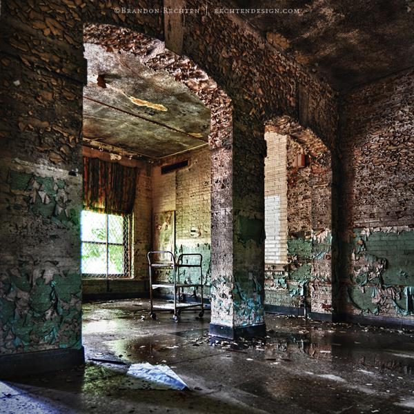 Asylum Arches by BrandonRechten