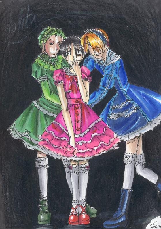 Gothic Lolita Boys By Ai Lupin On Deviantart