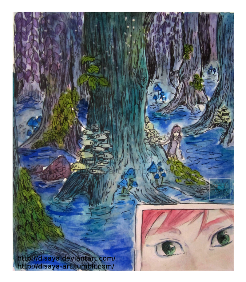 Forest (panel 1) by Disaya