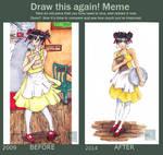 Draw this again - waitress
