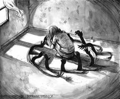 Inktober17 - Empty Room by Disaya