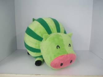 Sneak Peek- Watermelon Cow Plush! by LuckySquidStudios