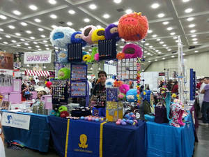 Our Booth at Otakon 2013!
