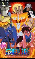 Luffy's Adventures in Equestria - fanart