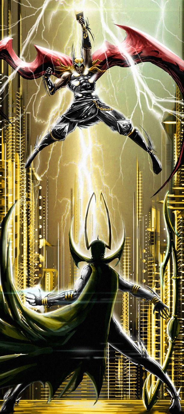 for Asgard by hayr