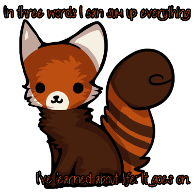 Chibi red panda - photo#23