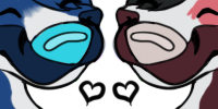 Krexyl and Rozalynn's Nose by IcissNightly