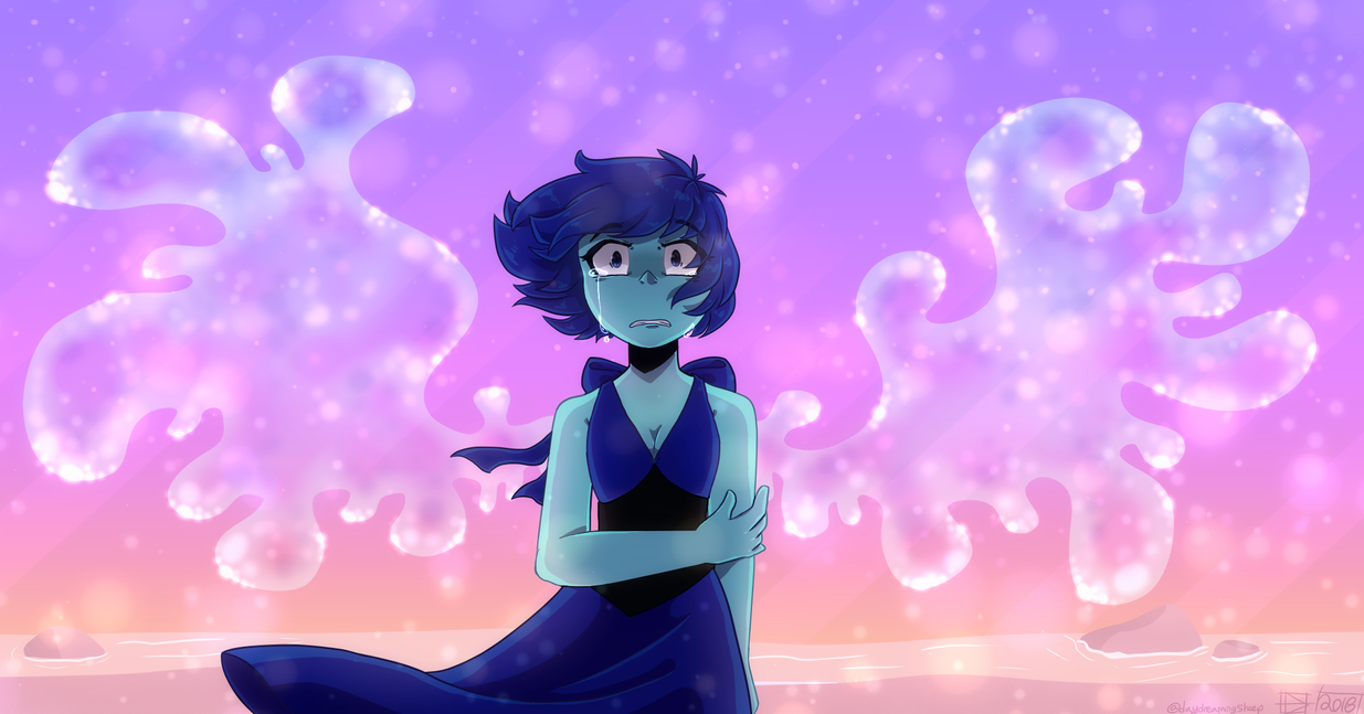 Some fanart of Lapis from steven universe