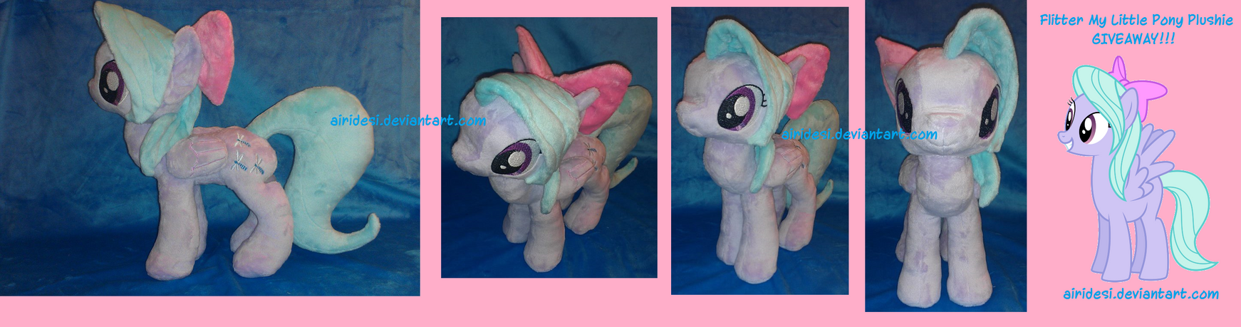 Flitter Plush Giveaway!!! by Airidesi