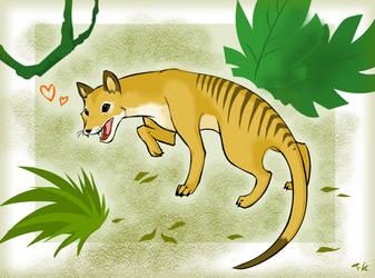 Thylacine by TaruKunJenour-FanArt