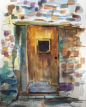 Old door study
