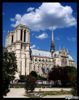 Notre Dame de Paris by neurolepsia