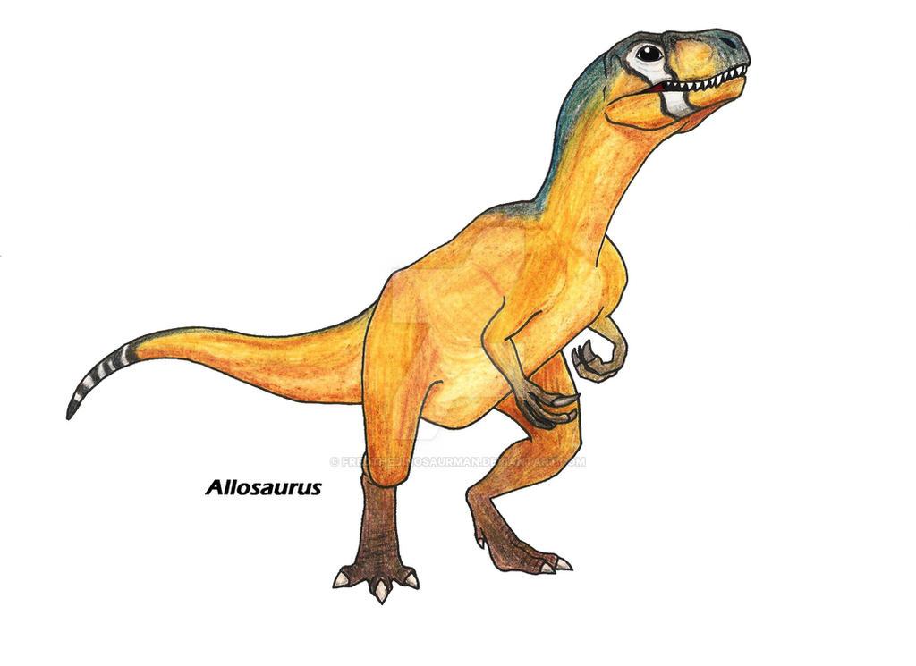 Dinosaur revolution allosaurus broken jaw