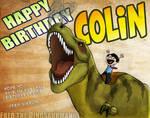 Colin's Birth Day!!!! by FredtheDinosaurman