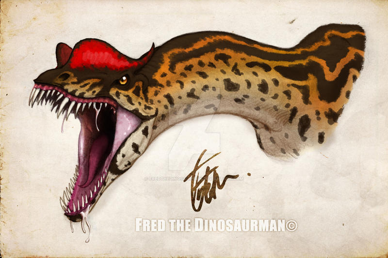 Dilophosaurus (Based on the Jurassic Park Novel) by ...