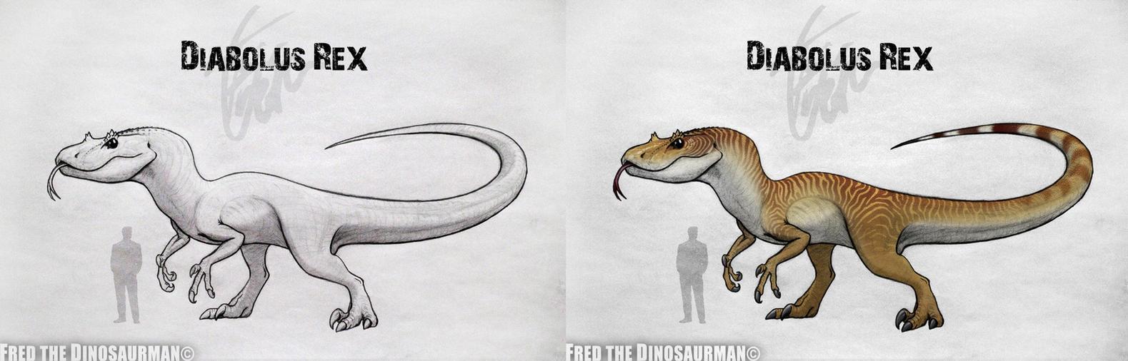 Diabolus Rex | Jurassic World by FredtheDinosaurman on ...