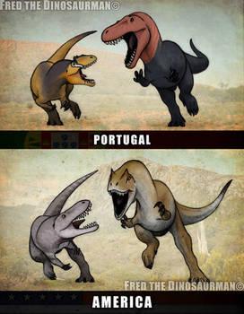 Turned Tables   Allosaurus vs Torvosaurus