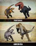 Turned Tables | Allosaurus vs Torvosaurus