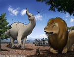 A Very African Jurassic America | Familiar Beasts by FredtheDinosaurman
