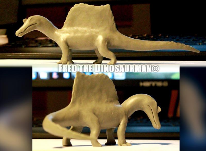 Godzilla Clay Models