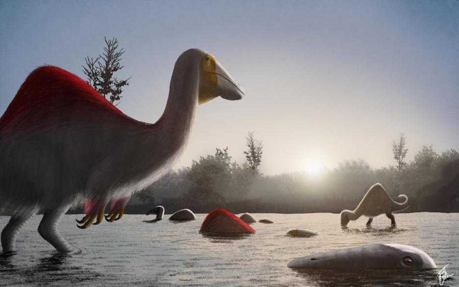 speed_paint_deinocheirus_morning_bath_by_fredthedinosaurman-d8490c4.jpg