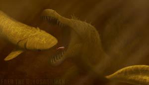 Snapping Spinosaurus