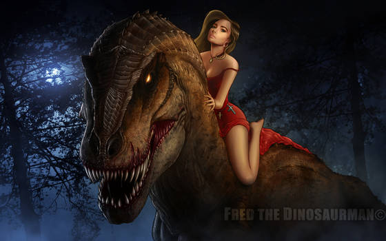 Tammy and the T. Rex REMASTERED! by FredtheDinosaurman