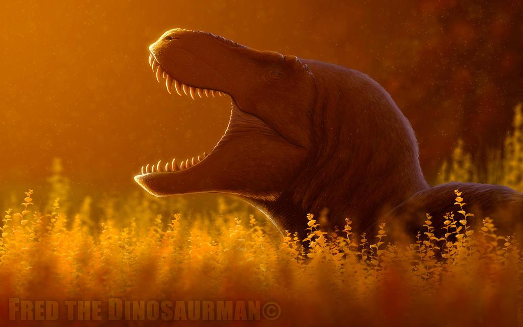 Resting Tyrannosaurus Rex