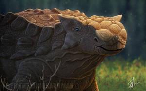 Ankylosaurus by FredtheDinosaurman