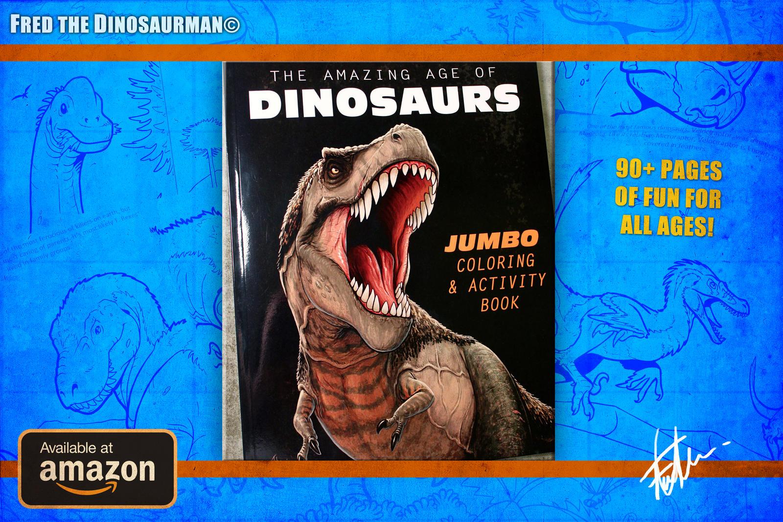 World\'s Greatest Dinosaur Coloring Book! by FredtheDinosaurman on ...