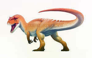 Allosaurus by FredtheDinosaurman