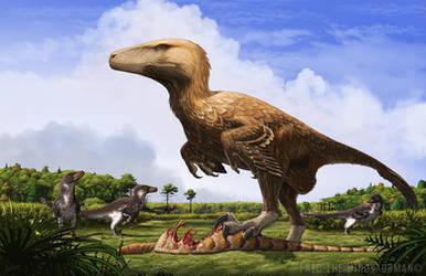 Dakotaraptor by FredtheDinosaurman