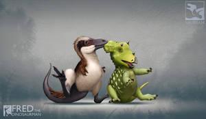 Unusual Dino-Friendships
