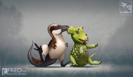 Unusual Dino-Friendships by FredtheDinosaurman