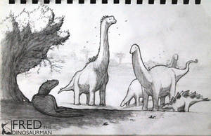 Morrison Formation by FredtheDinosaurman