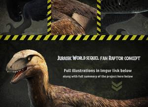 Jurassic World Sequel Fan-Made ConceptArt