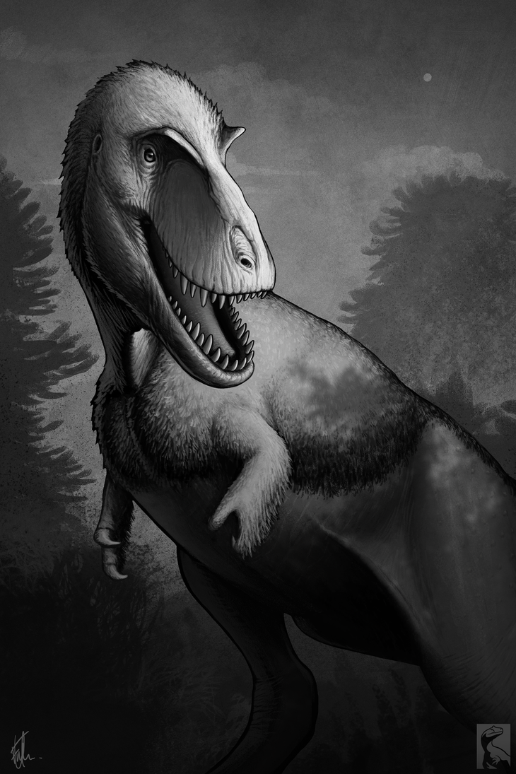 tiranosaurio - Tyrannosaurus rex - Página 3 Gorgosaurus_by_fredthedinosaurman-db4770n